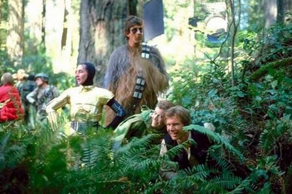 [Films] Photos personnelles et inédites de Peter Mayhew (Chewbacca) Bd1zko10