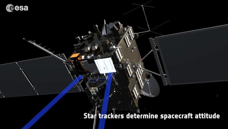 Rosetta : réveil et approche de 67P/Churyumov-Gerasimenko Scree157