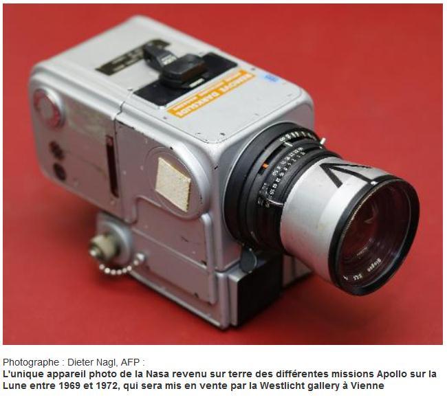 Vente de l'appareil photo d'Apollo XV Scree182