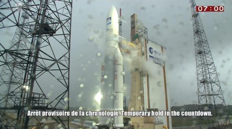 Lancement Ariane 5 ECA VA217 / ABS 2 & ATHENA FIDUS- 6 fevrier 2014 - Page 3 Scree202