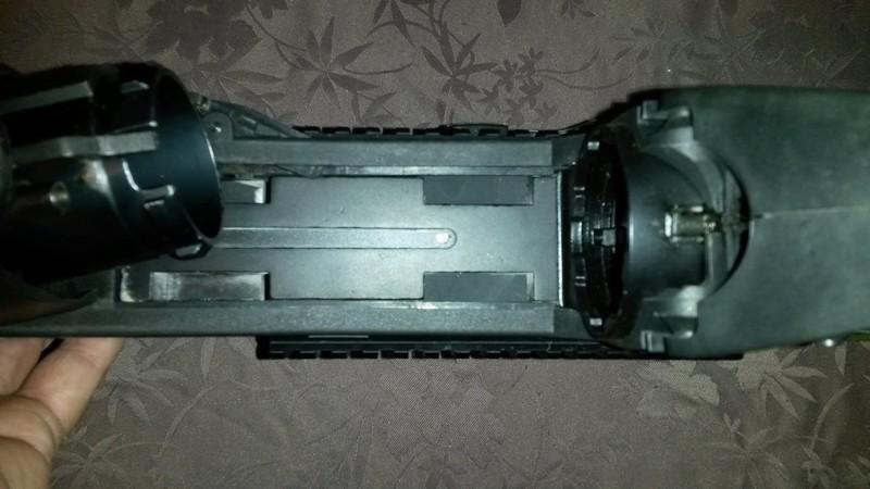 bricolage FN2000 G&G installation  grenade launcher 20170510