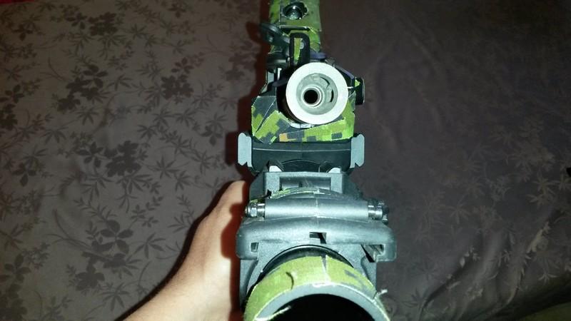 bricolage FN2000 G&G installation  grenade launcher 20170515