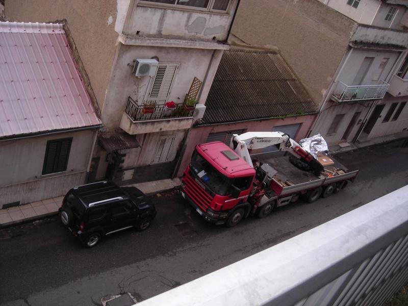 motrice con gru e rimorchio Scania12