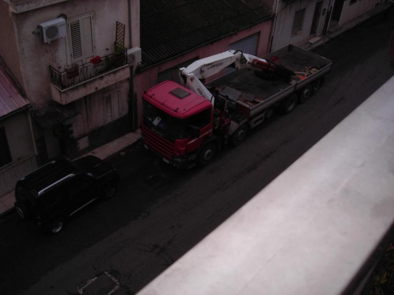 motrice con gru e rimorchio Scania14