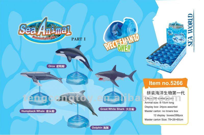 Sea Animals Puzzle 3D Sea_an10