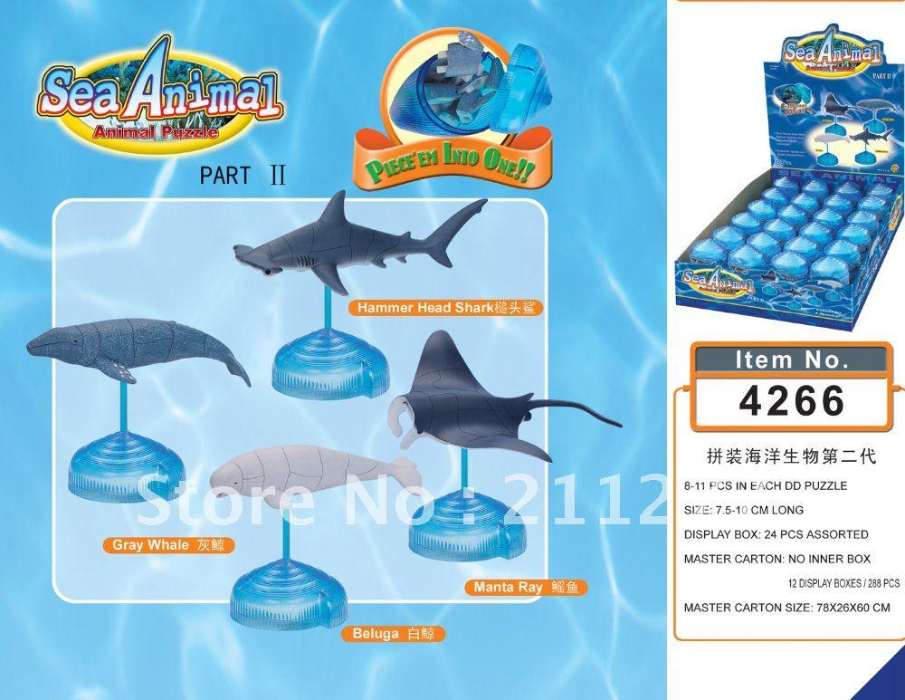 Sea Animals Puzzle 3D Sea_an11