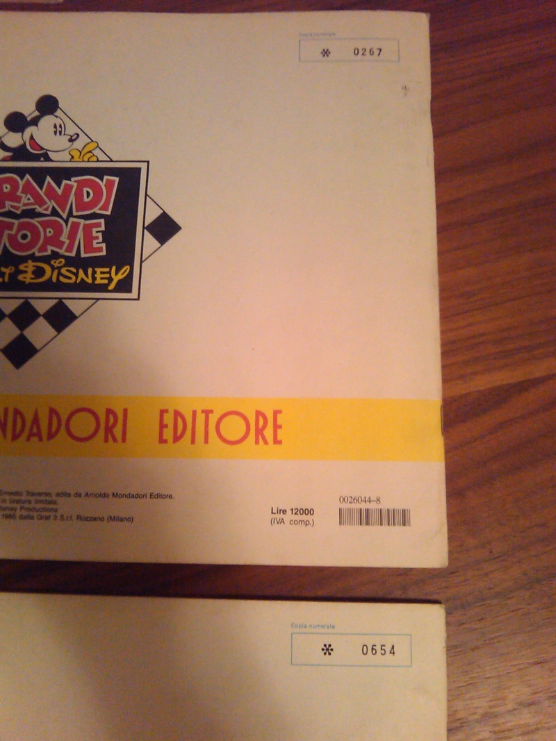 le grandi storie Walt Disney copie numerate 2014-036