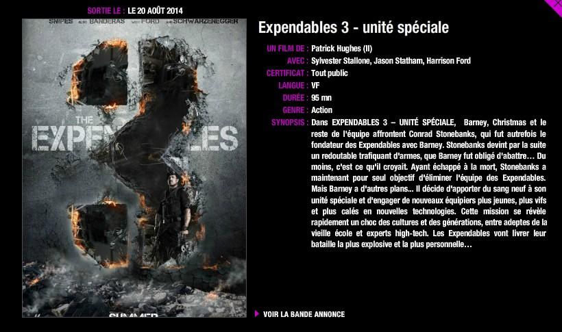 """""""Expendables 3"""" (Rumeurs / Avancés / Envies de fan) - Page 10 T10"""