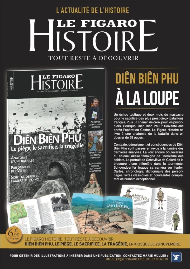 Le Figaro Histoire sort jeudi 28 novembre son nouveau numéro avec un dossier spécial de 58 pages sur Diên Biên Phu. Dien_b10