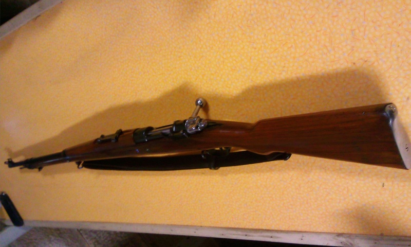 Fusil Mauser 1898/29 perse Photo014