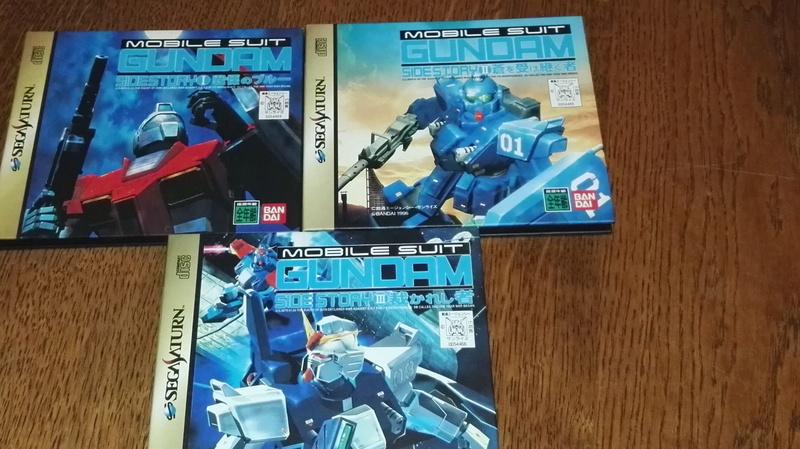[VDS] CONSOLE SATURN JAP EN BOITE + ACTION REPLAY NEUVE+ JEUX+AC Gundam10