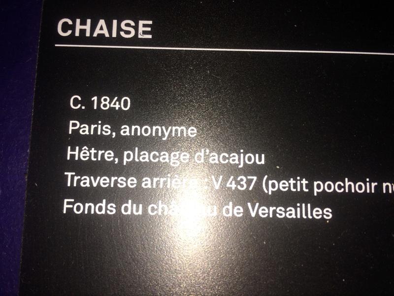 """Exposition """"Sièges en société"""" aux Gobelins - Page 4 Img_0414"""