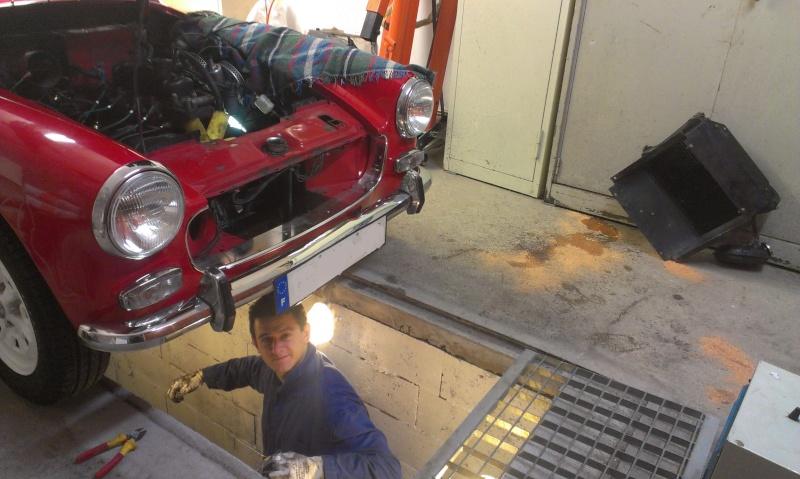 restauration moteur et boite MG midget 2013-110
