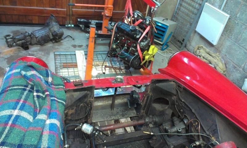 restauration moteur et boite MG midget 2013-111