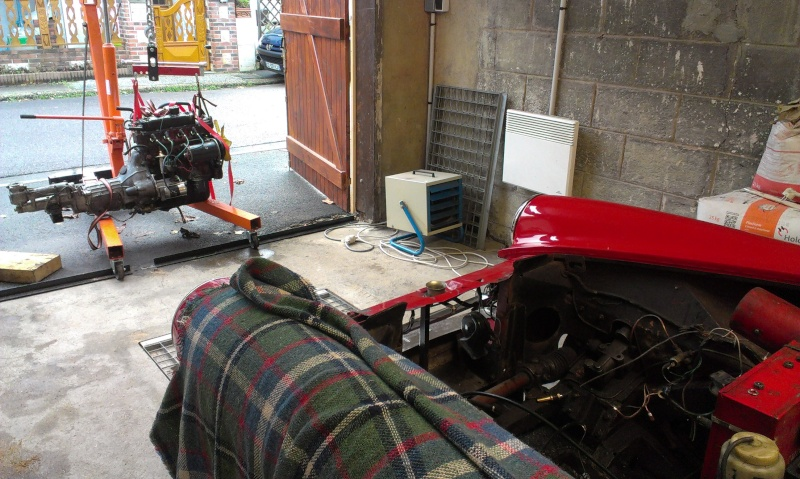 restauration moteur et boite MG midget 2013-113