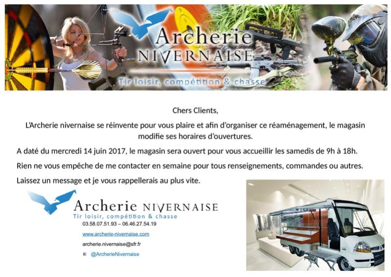 Archerie Nivernaise évolue Affich11