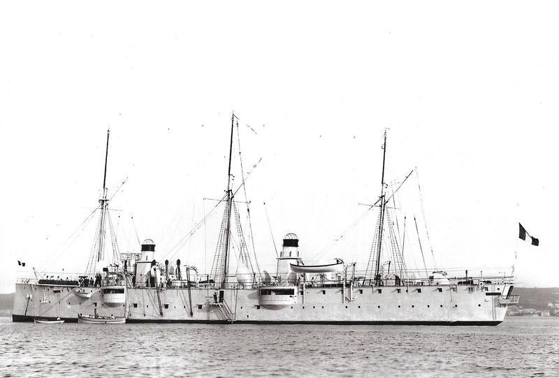 Navires de guerre Français 1914-1918 A1210