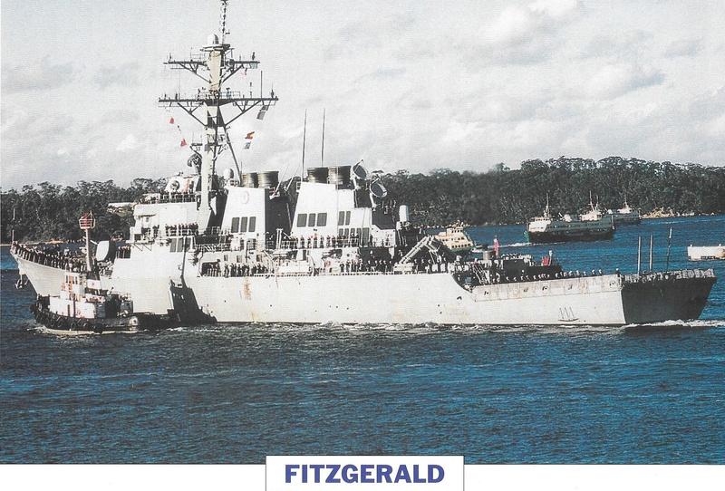 Collision destroyer USS Fitzgerald avec un navire marchand ! A127