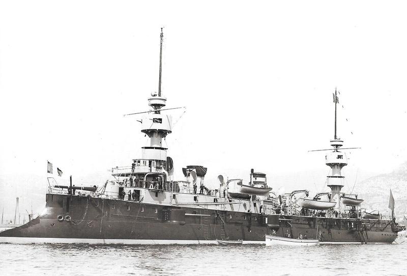 Navires de guerre Français 1914-1918 Ac210