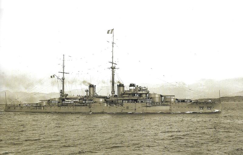Navires de guerre Français 1914-1918 Courbe11