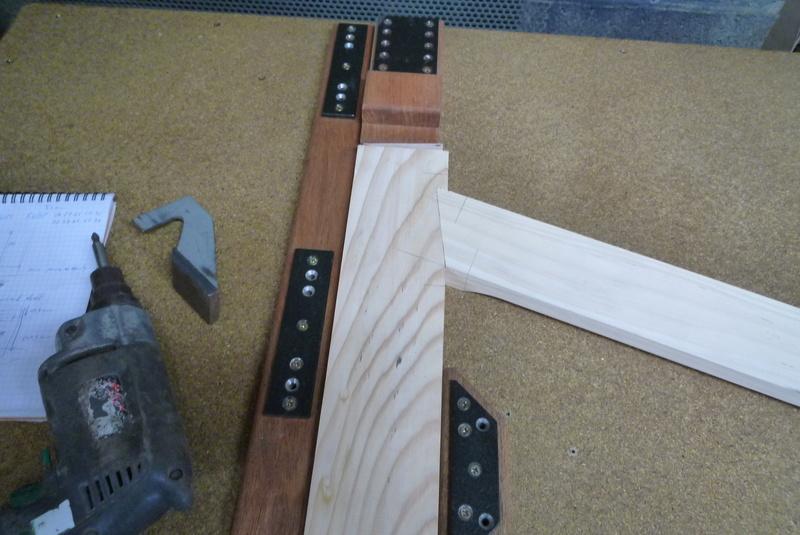choix de vis pour volet bois P1080711