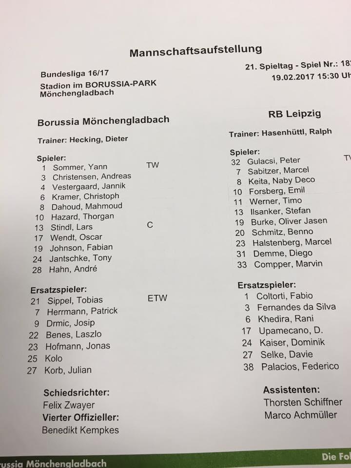 21. Spieltag: Leipziger Bullen auf der Fohlenweide - Seite 2 16832210