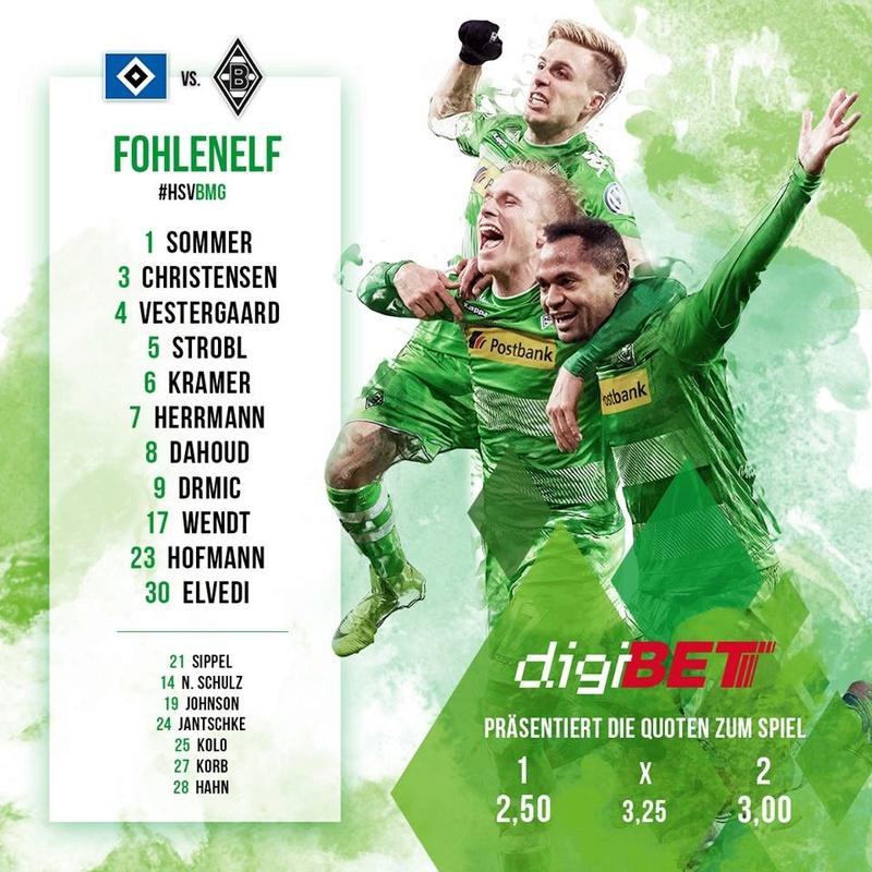 24. Spieltag: Die Fohlenelf im Volksparkstadion - mal wieder 17203210