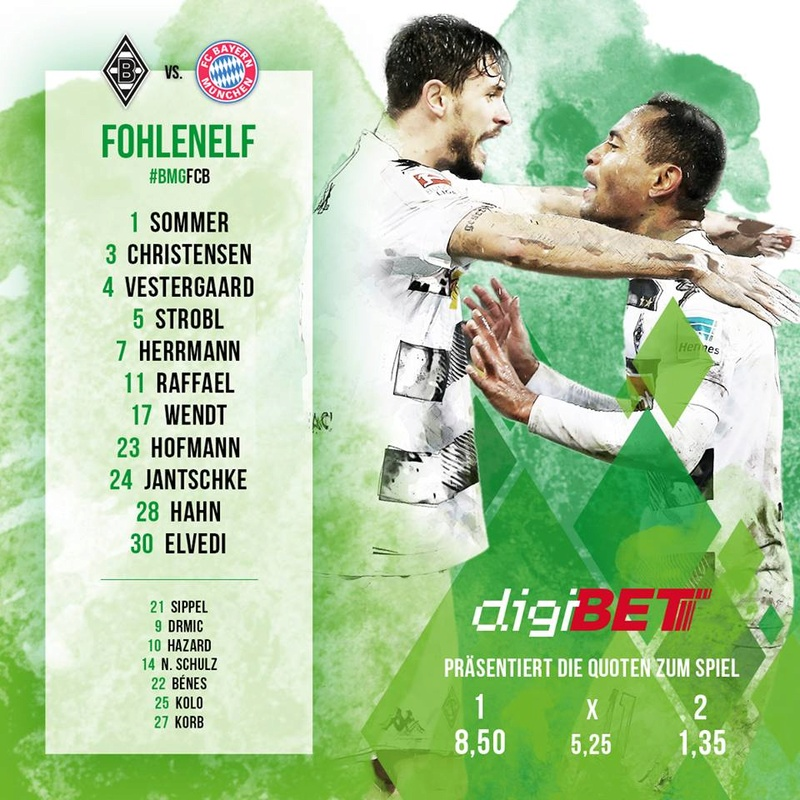 25. Spieltag: Fußball macht die Aufwartung im Borussia-Park 17342910