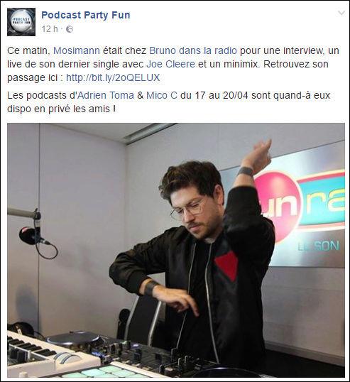[21/04/2017] Fun Radio - Bruno dans la radio  Captu209