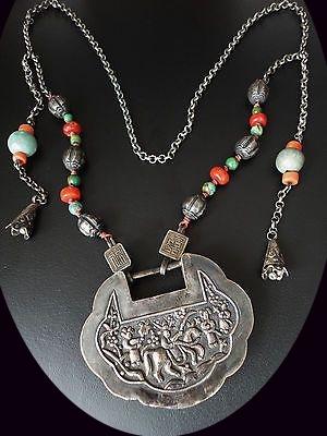 Amulette chinoise pour cadenas ... serrure, fermeture ... 19th_c10