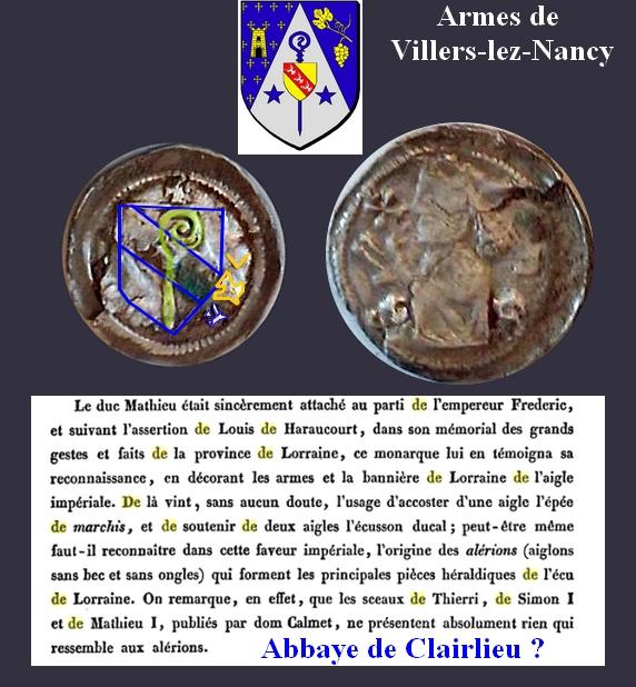 Monnaie Lorraine Evêché de ? Bernar14