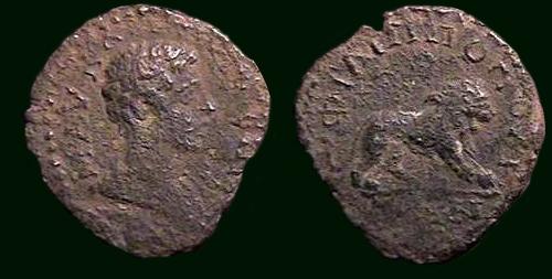Bronze colonial syrien pour Commode (181-192), ville Hiérapolis Domini15