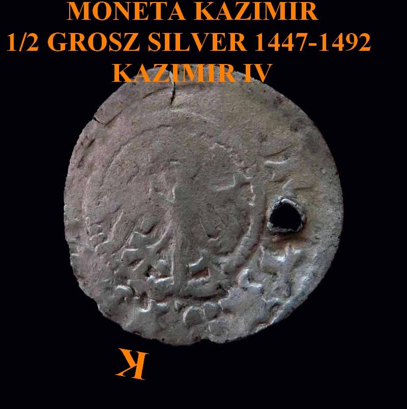 Pologne - Casimir IV Jagellon (1447-1492). Kantch12