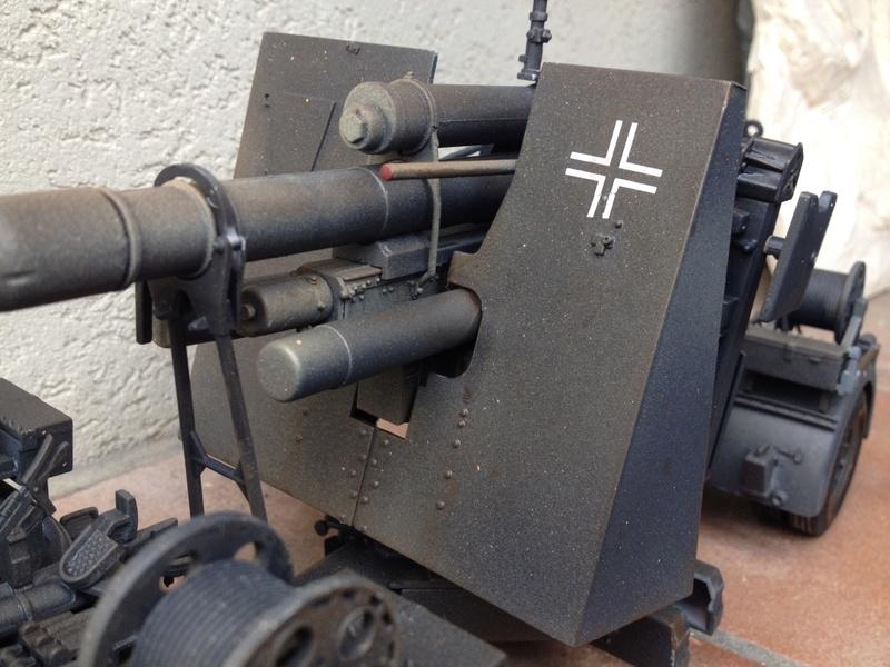 MERIT Flak36 88mm Anti Aircraft Gun Immagi25