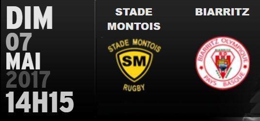 STADE MONTOIS - BOPB (30ème journée) 1113