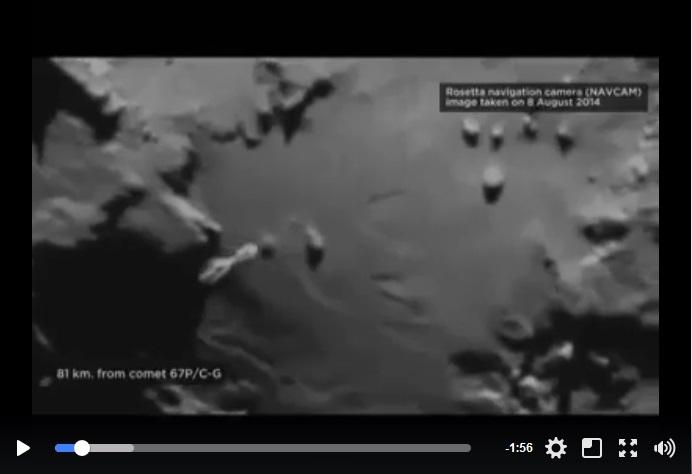 ovni comète tchouri (67P/Tchourioumov-Guérassimenko filmée par rosetta) Tchour10