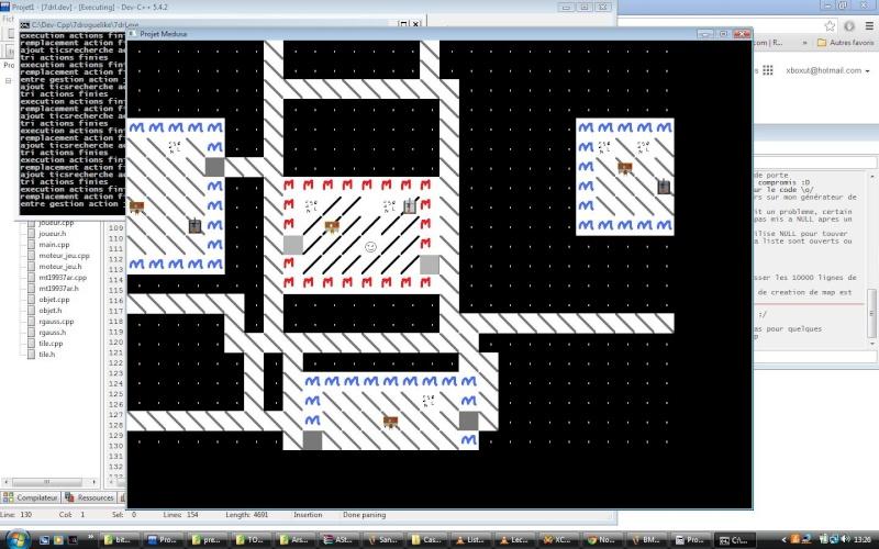 Entrée 7drl xboxut: projet medusa Avance10