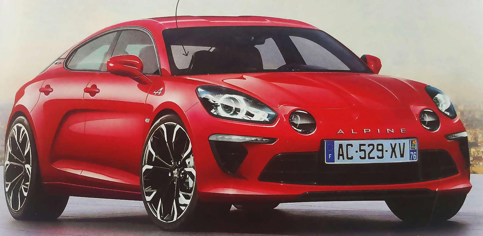 2020 - [Alpine] GT 4 portes A110-510