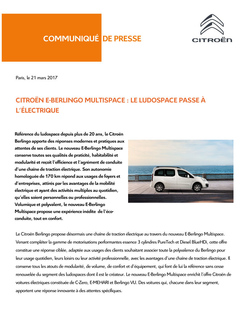 [SUJET OFFICIEL] E-Berlingo Multispace Cp_e-b15