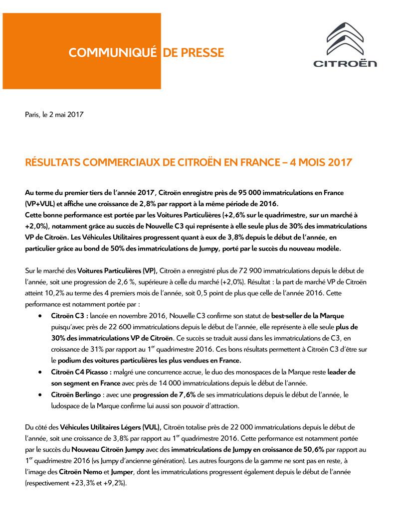 [VENTE] Résultats Commerciaux et Financiers 2017 Cp_res12