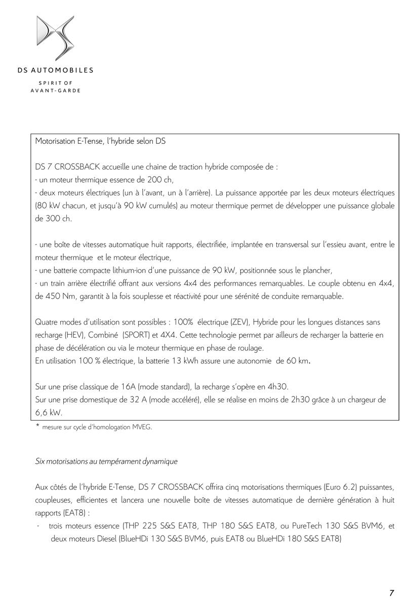[SUJET OFFICIEL] DS 7 Crossback (X74) Dp_ds714