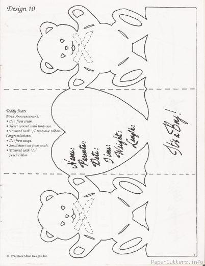 kirigami winnie l'ourson C6d25010