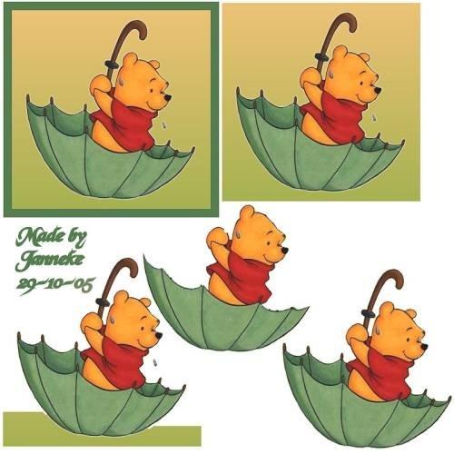 kirigami winnie l'ourson Winnie10