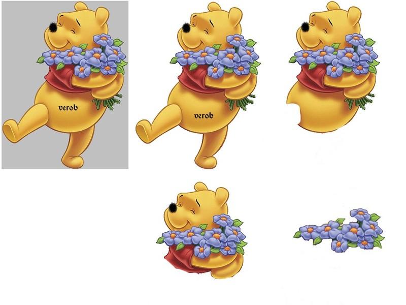 kirigami winnie l'ourson Winnie11