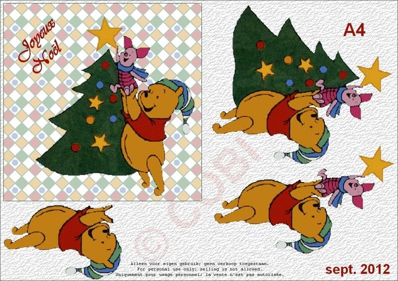 kirigami winnie l'ourson Winnie12