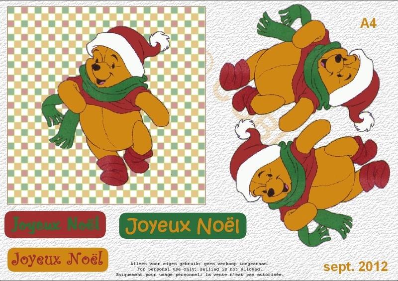 kirigami winnie l'ourson Winnie13