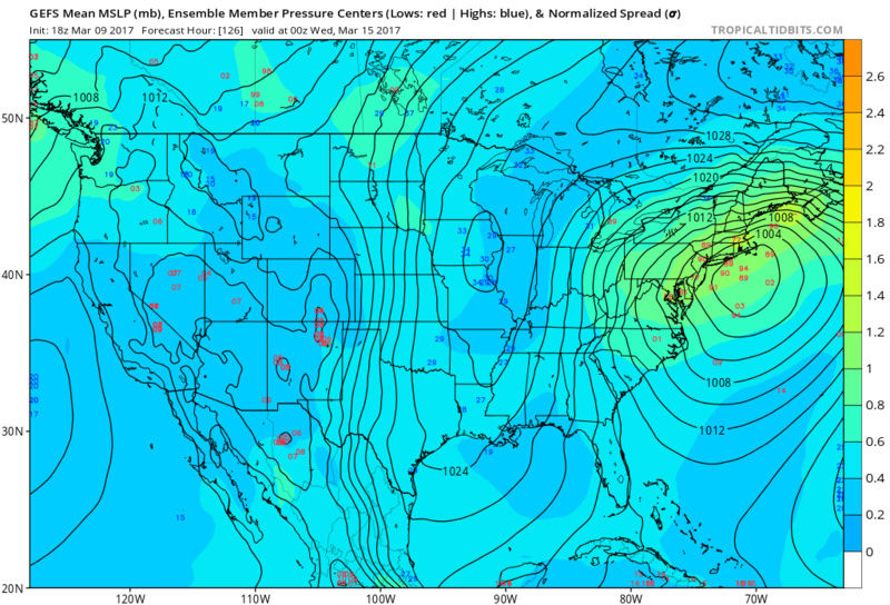 BLOG: Roidzilla Could Impact Area Tuesday March 14th - Page 2 Gfs-em10