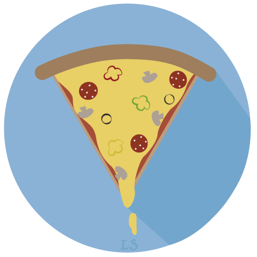 Flat Design Pizza11