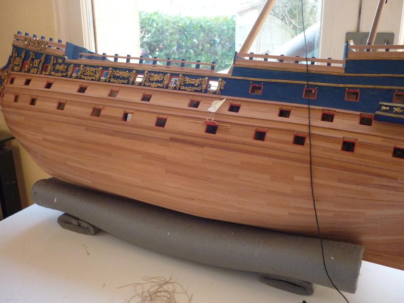 HMS VICTORY de chez Constructo au 1/94e - Page 4 P1090415