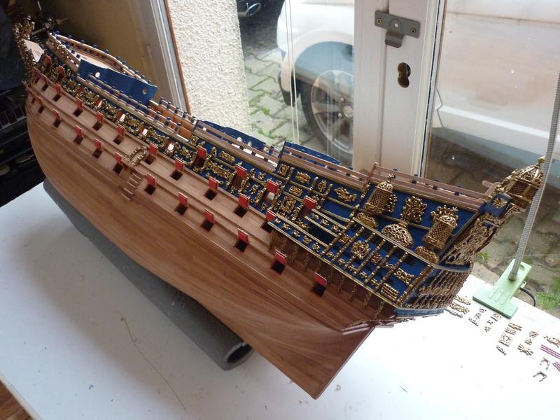 HMS VICTORY de chez Constructo au 1/94e - Page 4 P1090610